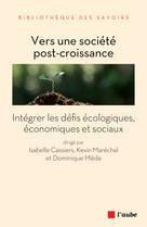 Vers une société post-croissance | Cassiers, Isabelle