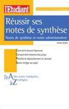 Réussir ses notes de synthèse   Gévart, Pierre