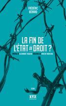 La fin de l'État de droit? | Bérard, Frédéric
