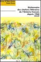 Dictionnaire des citations de l'Ontario français depuis 1960 (DICLOF) | Karch, Pierre