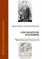 Les chants de Maldoror   Ducasse, Isidore comte de Lautréamont